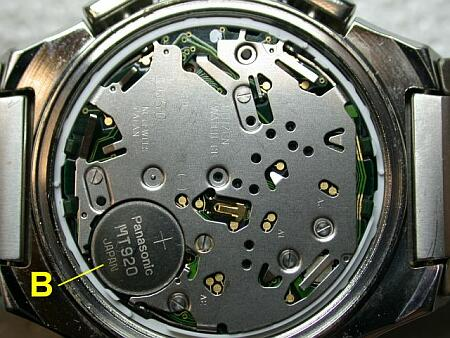 how to change eco drive mt 516 battery capacitor