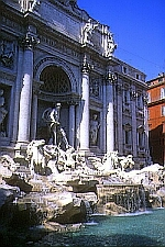 Trevi Fountain--ready for a splash?