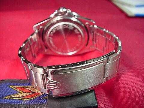 Tudor Sub band & clasp - click to enlarge
