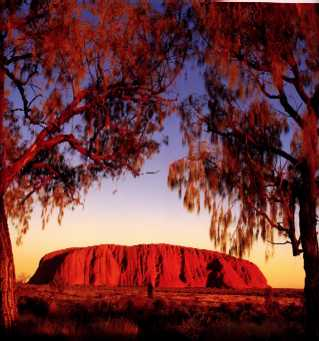 Uluru (Ayers Rock) - click to enlarge